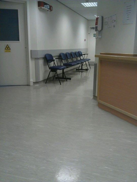 waiting in hosp